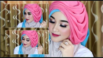 Gaya Hijab Kombinasi