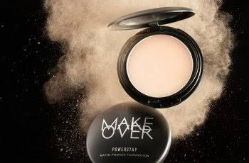 Hai girls, ada yang udah cobain MAKE OVER Powerstay Matte Powder Foundation ?