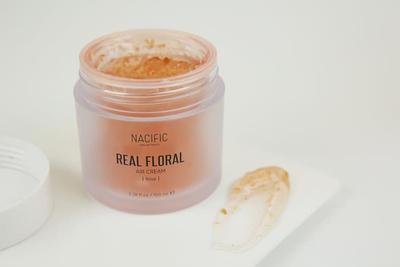 Nacific Real Floral Air Cream Bikin Kulit Terasa Lembut dan Lembap