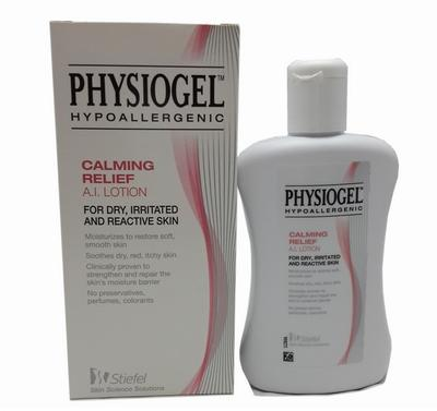 Physiogel Hypoallergenic Calming Relief AI Lotion