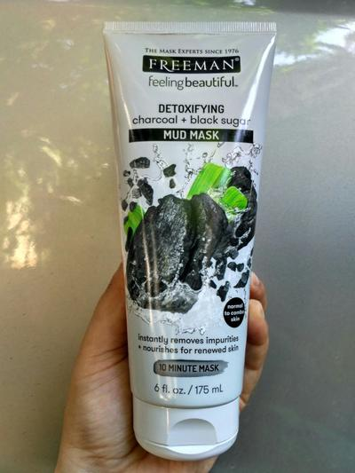 [FORUM] Freeman Charcoal + Black Sugar Mud Mask Bagus Buat Detox!