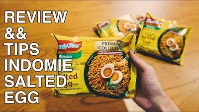 [FORUM] Review Indomie Salted Egg, rasanya kok gini?