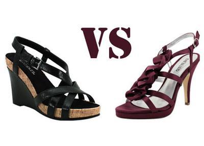 [FORUM] Wedges atau  High Heels, manasih yang lebih nyaman digunakan?