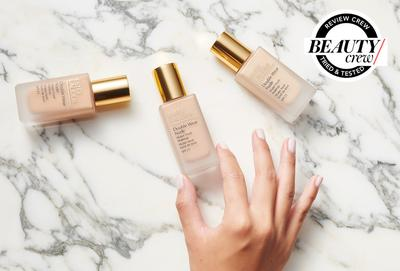 Dapatkan Hasil No Foundation Foundation Look yang Super Natural dengan Estee Lauder Double Wear Nude Water Fresh Makeup!