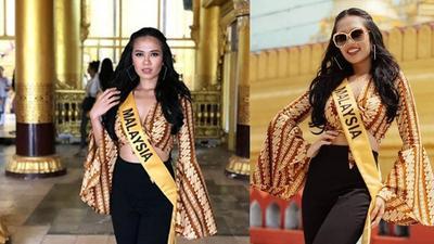[FORUM] Duh! Motif batik parang diklaim Miss Grand International Malaysia