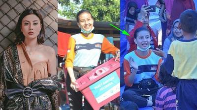 [FORUM] Viral Foto Awkarin Jadi Relawan di Palu...