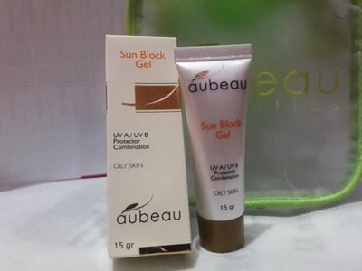 [FORUM] Review Aubeau Sun Block Gel di sini!