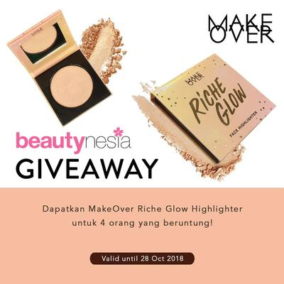 [GIVEAWAY ALERT] Beautynesia Bagi-bagi Highlighter Make Over Gratis! Yuk, Ikutan Giveawaynya Ladies