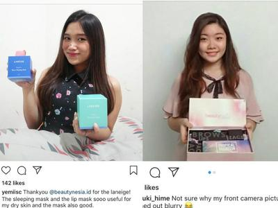 Pemenang Beautynesia Giveaway Campaign Periode Agustus - September 2018