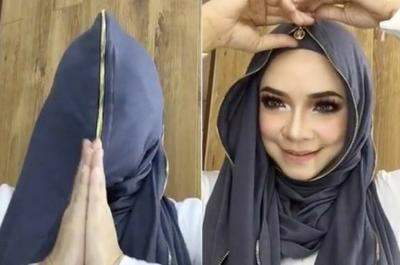 [FORUM] Lagi kontroversial, Nora Danish pakai hijab yang diresleting sampai wajah
