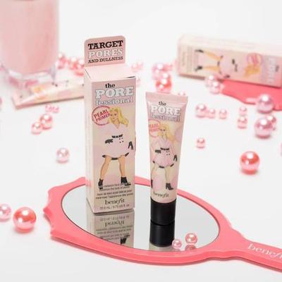 Wajah Tampak Cerah dan Makeup Tahan Lama Berkat Benefit Porefessional Pearl Primer