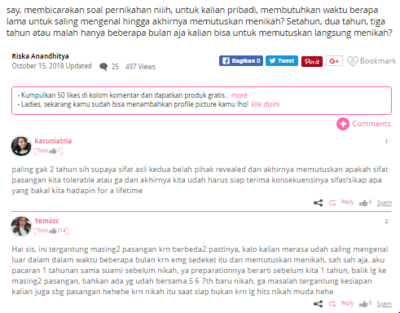 [FORUM] Aku suka bacain komentar di forum Beautynesia, beberapa sangat solutif untuk masalah aku