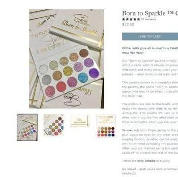 [FORUM] Wow! Eyeshadow 'Born To Sparkle' Kylie Jenner Ternyata Plagiat Produk Ini..