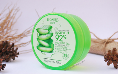 [FORUM] Bioaqua Aloe Vera 92% Shooting Gel, Apa khasiatnya sebagus Nature Republic?
