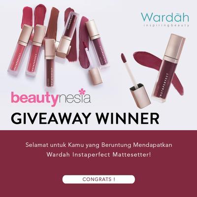 [GIVEAWAY ALERT] 5 Pemenang Lipstick Wardah Instaperfect Gratis dari Beautynesia, Selamat Ladies!