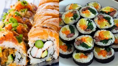 [FORUM] Lebih suka sushi atau kimbap?