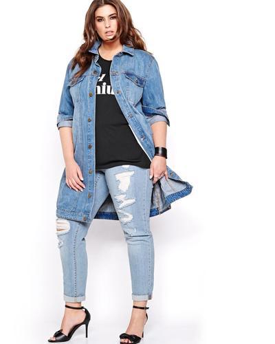Oversized jeans