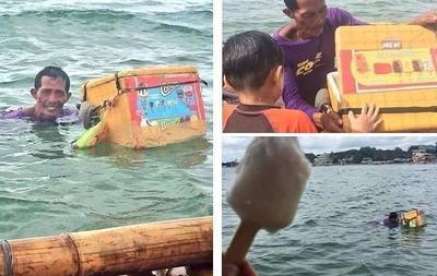[FORUM] Salut banget, gimana pendapat kamu dengan bapak penjual es satu ini?
