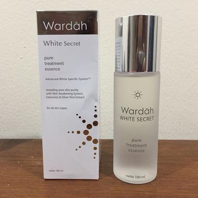 Wardah White Secret Pure Treatment Essence, Buat Kulit Wajahmu Jadi Lebih Cerah dan Halus