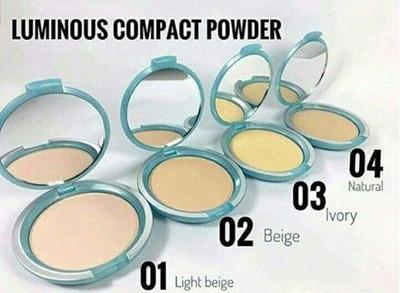 3. Wardah Luminous Compact Powder