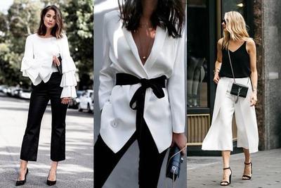Beberapa Tips Mix and Match Outfit Hitam Putih Agar Tidak Membosankan