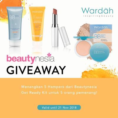 [GIVEAWAY ALERT] Ikutan Giveaway Beautynesia, Menangkan 4 Produk Wardah Gratis!