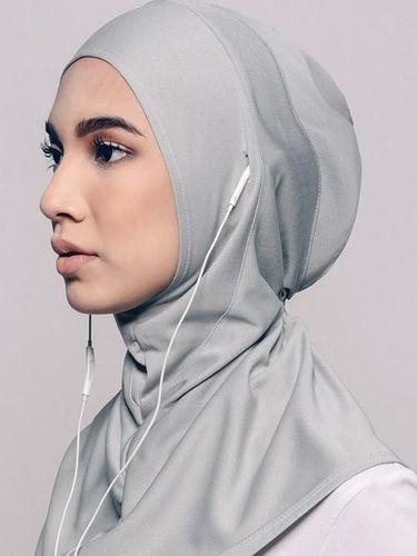 [FORUM] Ada hijab punya lubang khusus buat headset, tertarik ga hijabers?