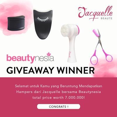 [GIVEAWAY ALERT] 20 Pemenang Beautynesia Giveaway Jacquelle, Intip di Sini Ya!