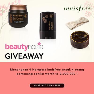 [GIVEAWAY ALERT] Mau Punya 3 Produk Best Seller Innisfree? Ikutan Giveaway Beautynesia Yuk!