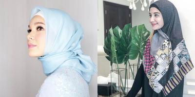 Model Gamis Batik ala 5 Artis Ini Modern Tapi Tetap Syar'i!