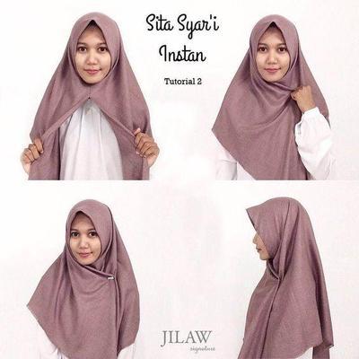 Hijab Segitiga Praktis