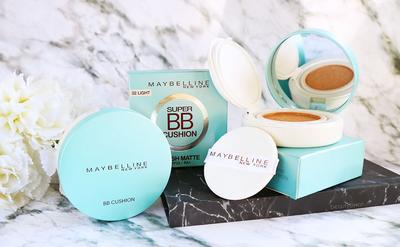 1. Maybelline Super BB Cushion Fresh Matte, Review dan Harga