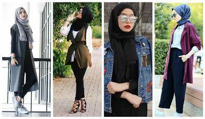 Tiru Empat Tutorial Hijab Pashmina Buat Tampil Modis Setiap Hari