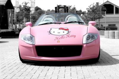 [FORUM] Bingung Deh, Apa Sih Faedahnya Pasang Sticker Hello Kitty di Mobil?