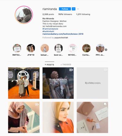 Ria Miranda Instagram