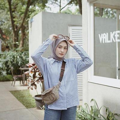 Style Hijab Dengan Kemeja