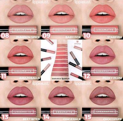 Review Lip Cream Emina Warna Terbaru