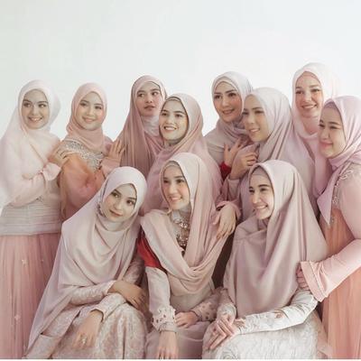 Perbedaan Style Hijab Para Hijabers Cantik, Personal Hijab Squad yang Anggun! Kamu Suka Siapa?