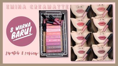 Kemasan Lip Creammatte Emina