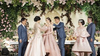 Ternyata Ini Fakta Souvenir dan Doorprize Pernikahan Pasangan Crazy Rich Surabaya