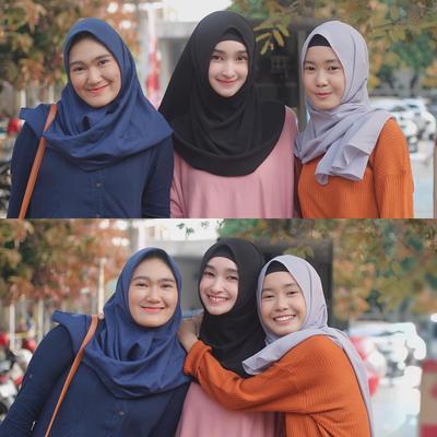 1. Hijab Instan Simple