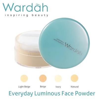Bedak Tabur Everyday Luminous Face Powder - Wardah
