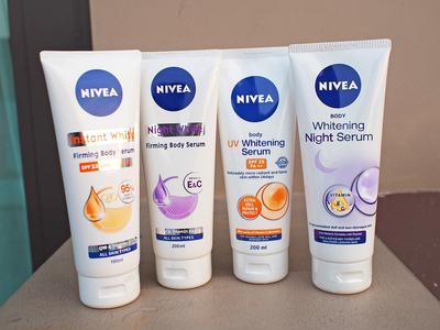 [FORUM] Body lotion nivea yang serum beneran bisa bikin putih gak?
