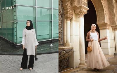 Contek OOTD Hijab Ala Selebgram Hijabers Ini Supaya Makin Stylish Selama Hamil