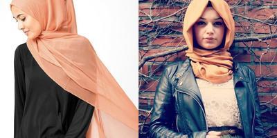 Jangan Takut Norak! Begini Tips OOTD dengan Hijab Warna Jingga