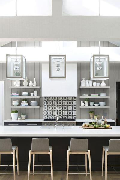 Dapur Dominasi Putih