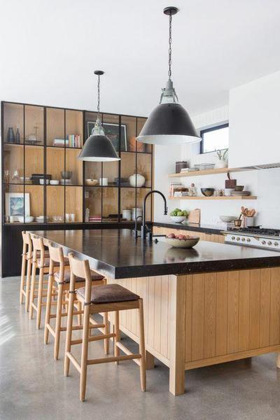 Dapur Minimalis Rustic