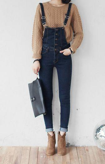 Overall-Brown