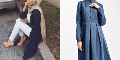 Enggak Harus Pakai Kain, Ini Style Hijab Kondangan dengan Celana Jeans!