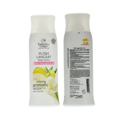 3. Sariayu Putih Langsat Body Lotion